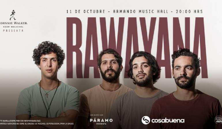 Rawayana Bogotá: Rawayana regresa a Bogotá