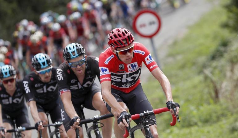 Vuelta a España Froome: La Vuelta a España termina en Madrid con Froome en la cima