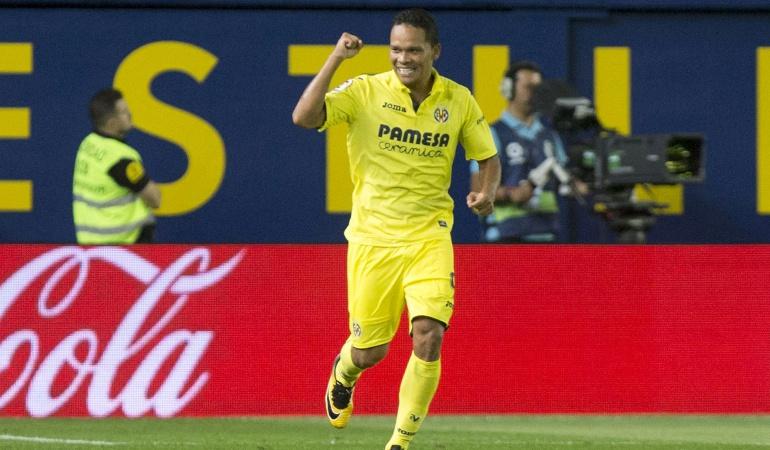 Carlos Bacca Villarreal Real Betis: Carlos Bacca marcó su primer gol con el Villarreal en el fútbol español