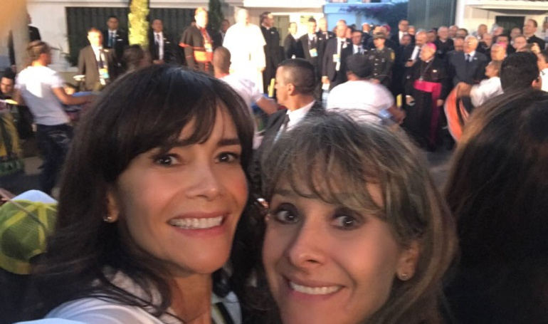 Vilma y Ángela: Las mujeres detrás de las comunicaciones de la visita del Papa