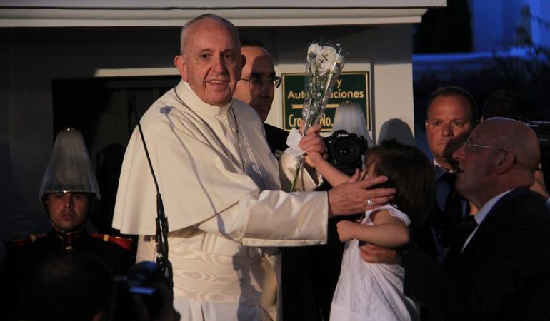 En vivo visita del Papa Francisco a Colombia: Con #GraciasFrancisco, Colombia se despide del sumo pontífice