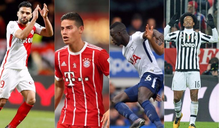Inicia la Champions League con siete colombianos en competencia
