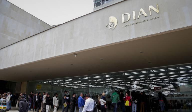El recaudo de impuestos creció 9,8% durante agosto según informó la Dian
