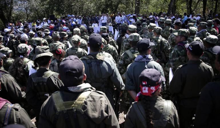 Gobierno sacó de la lista de las Farc a 25 narcos