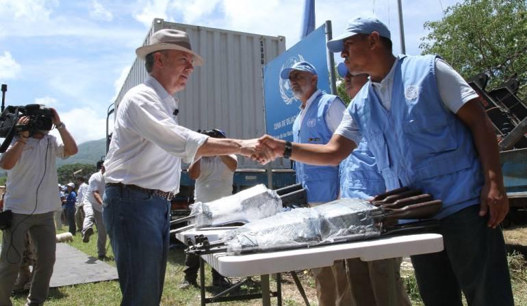 ONU Colombia Farc: Segunda misión de la ONU en Colombia terminó preparativos para la verificación