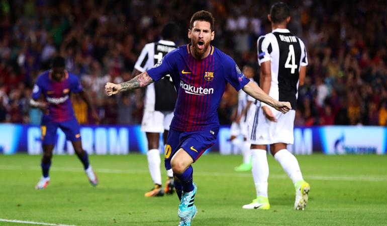 Barcelona Champions: Messi lidera la goleada de Barcelona sobre la Juventus