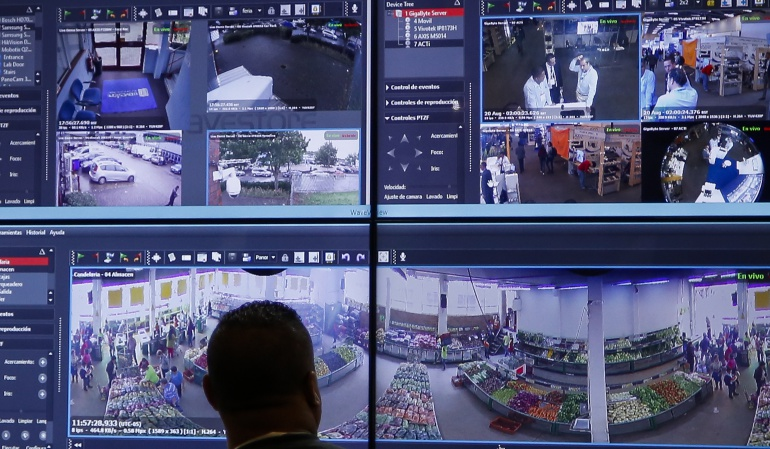 Pérdidas económicas en cámaras de seguridad.: Más del 50% de las cámaras de vigilancia en Bogotá no sirven