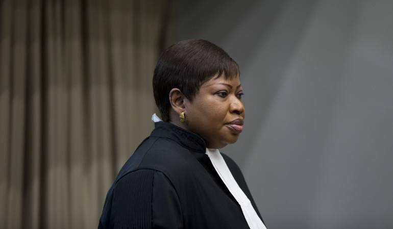 Fatou Bensouda.