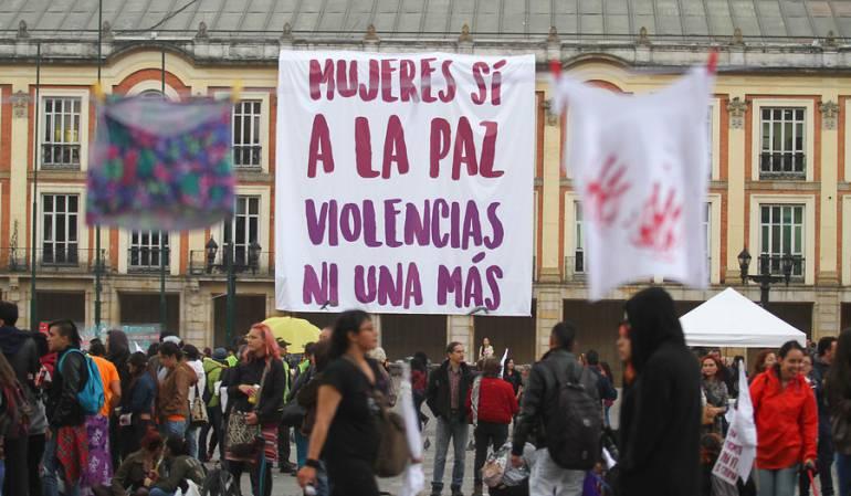 Sena Maltrato mujer: Promueven plantón por golpiza de un instructor del Sena contra su pareja