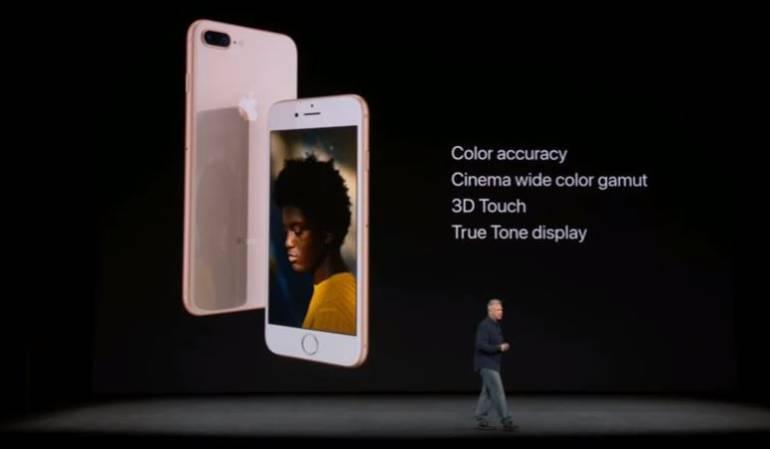 Presentación iphone 8 y iPhone 8 Plus