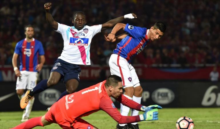Cerro Porteño Junior Copa Sudamericana: Junior logra un valioso empate en la casa de Cerro Porteño