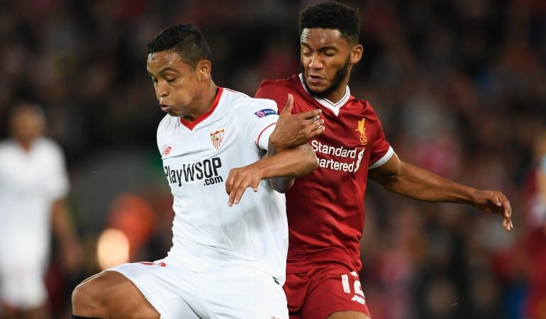 Liverpool Sevilla: Liverpool y Sevilla no se sacaron diferencias en el arranque de Champions