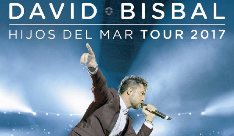 David Bisbal ofrece concierto en Bogotá a beneficio de Unicef