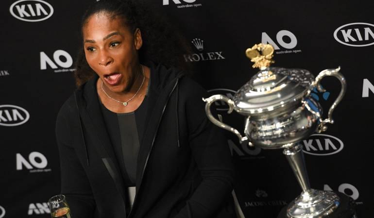 Serena Williams es mamá y presentó a su hija: Atención amantes del deporte, Serena Williams presentó a su heredera