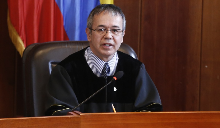 Luis Antonio Hernández, magistrado al frente de la investigación de corrupción en la Corte Suprema.