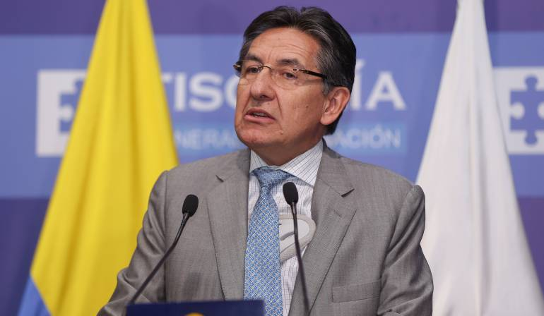 El fiscal General de la Nación, Néstor Humberto Martínez.
