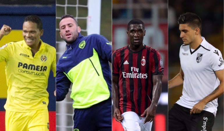 Europa League colombianos: Con seis colombianos inicia la Europa League