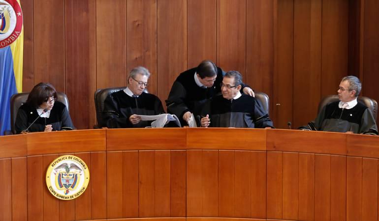 Gustavo Malo Corte Suprema: Los 23 magistrados de la Corte reiteran solicitud de renuncia a Gustavo Malo