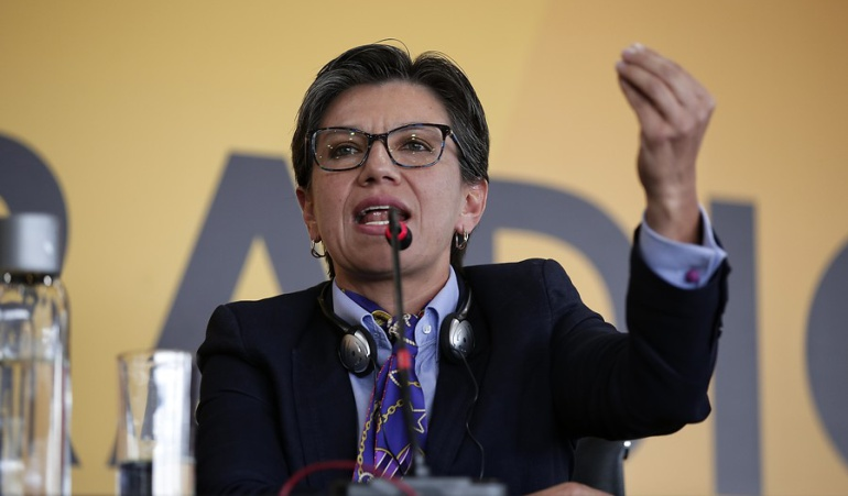 ALIANZA VERDE: Claudia López candidata presidencial de la Alianza Verde