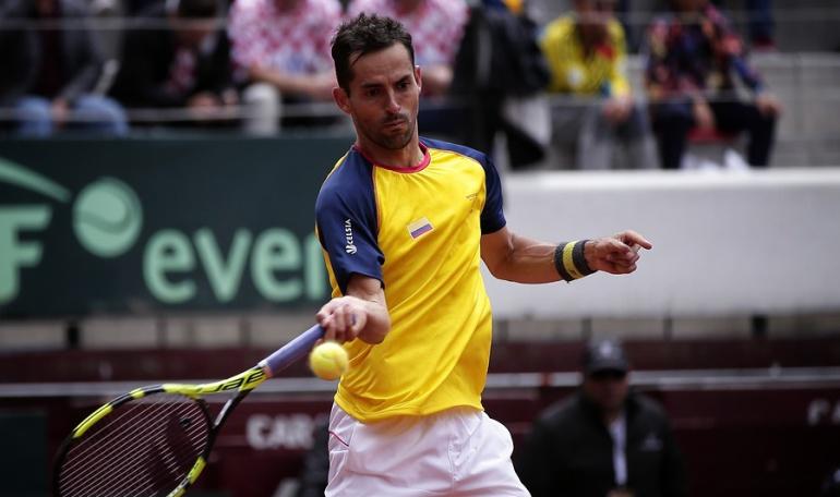 Copa Davis en Colombia: Santiago Giraldo empata la serie ante Croacia por la Copa Davis