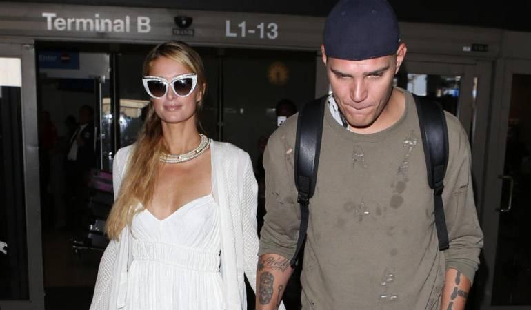 Paris Hilton y su novio Chris Zylka
