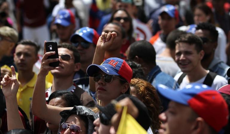 VENEZUELA DIALOGO: Maduro dice está cerca de lograr un acuerdo con la oposición en diálogo