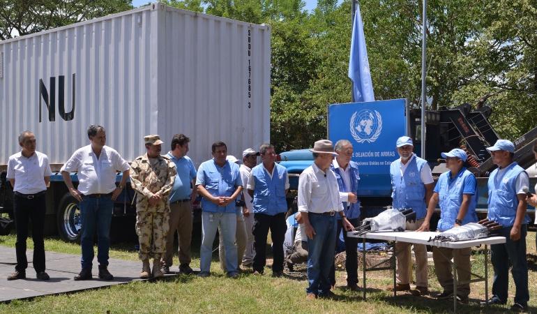 Proceso de paz: ONU terminó extracción de 750 caletas de las Farc