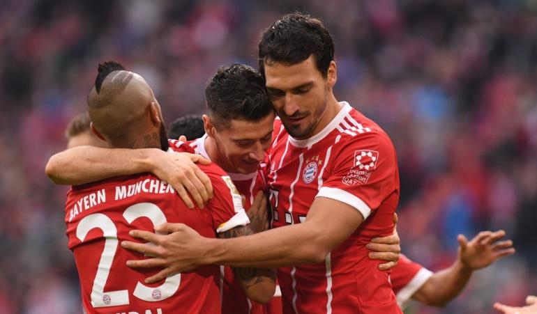 James Rodríguez Bayern Múnich: Sin James, Bayern recupera la alegría y golea al Mainz