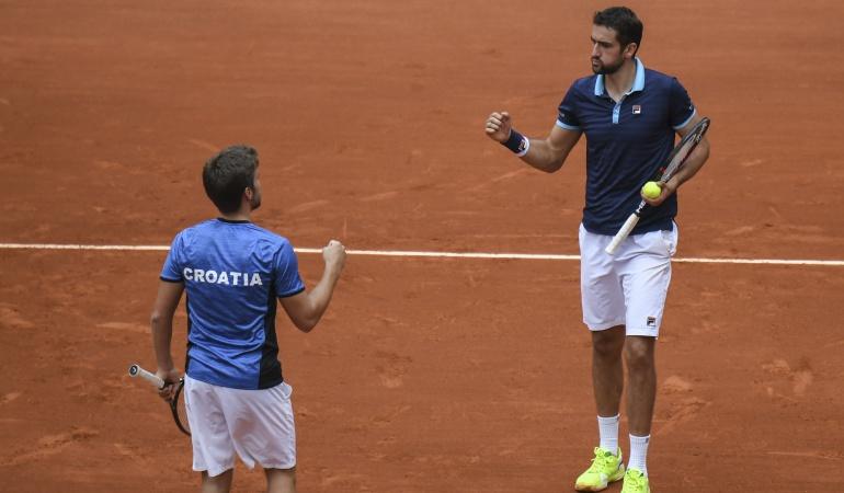 Copa Davis: Croacia vence a Colombia en dobles y se adelanta en la serie de Copa Davis