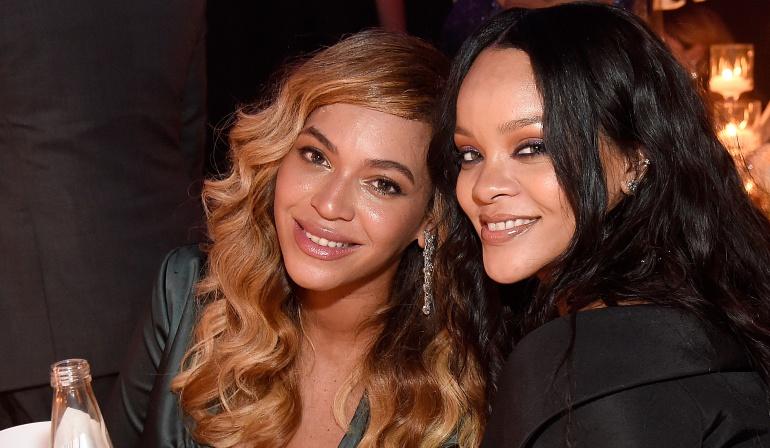 Rihanna y Beyoncé, juntas en una foto
