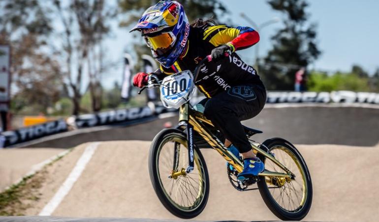 Mariana Pajón, la reina en la Copa Mundo de BMX en Argentina