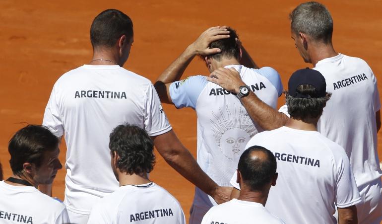 Argentina cae ante Kazajistan y no estará en el Grupo Mundial de Copa Davis
