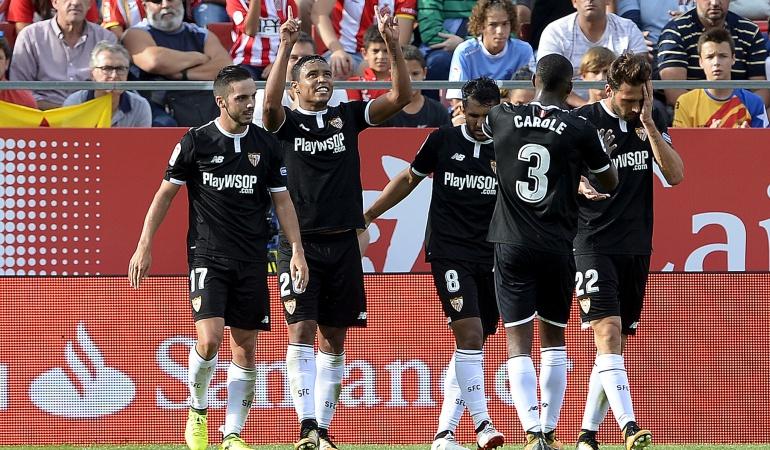 Luis Fernando Muriel Sevilla: Luis Fernando Muriel anotó su primer gol en España y le dio la victoria al Sevilla