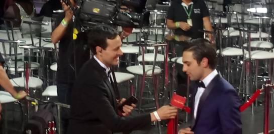 El protagonista de La Niña, una de las series con mayor número de nominaciones.