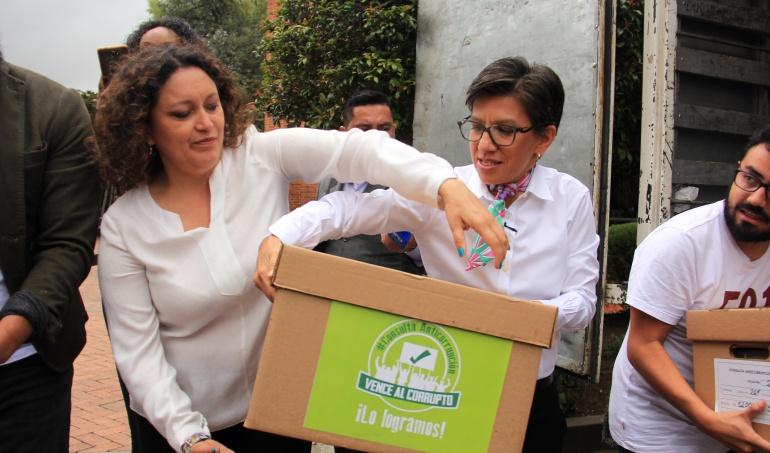 Registraduría avala que continúe consulta anticorrupción de la Alianza Verde