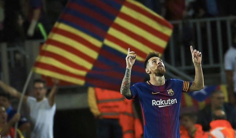 Messi cuatro goles Eibar: Messi con un póquer lidera la goleada del Barcelona al Eibar