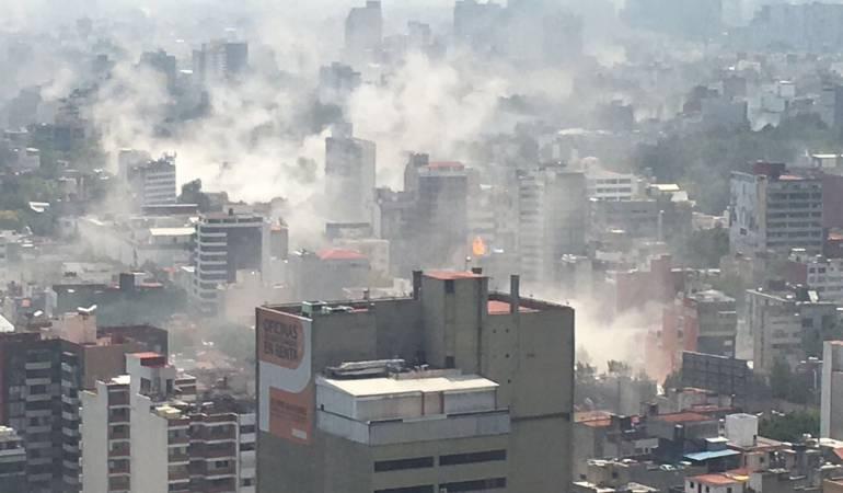 Terremoto en México: Aumentan a 79 los muertos por el terremoto de magnitud 7,1 en México