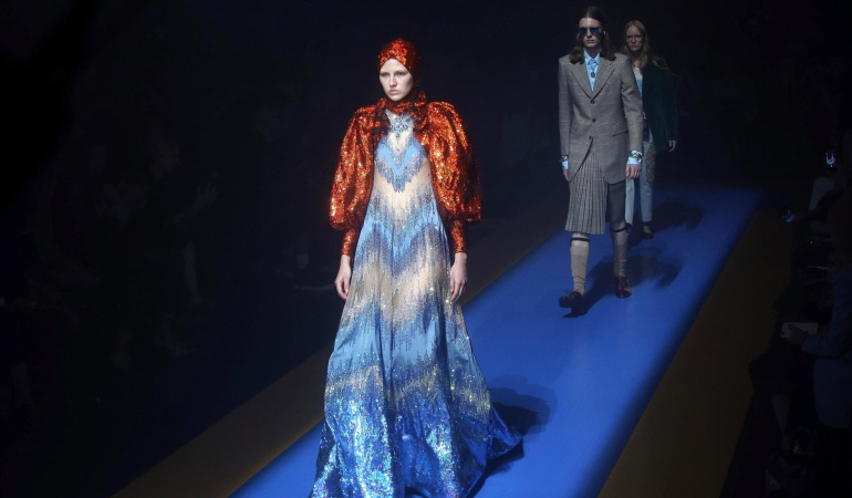 Semana de la Moda de Milán: Gucci inaugura la Semana de la Moda de Milán con una colección de mezclas