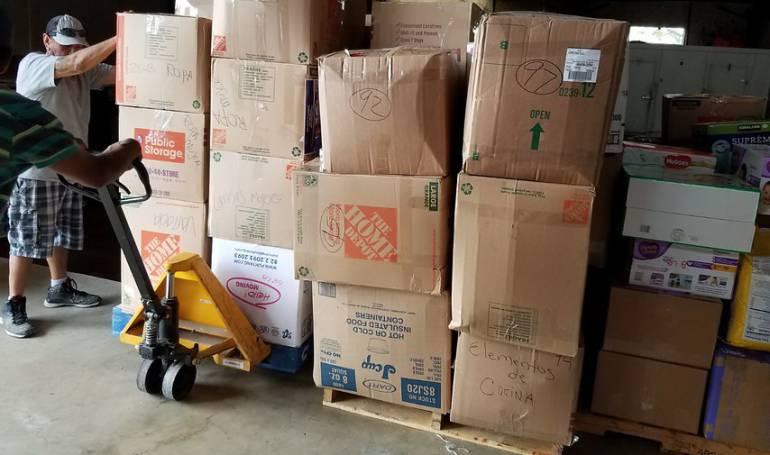 ayuda humanitaria a Cuba: Fueron enviadas 15 toneladas de ayuda humanitaria a Cuba