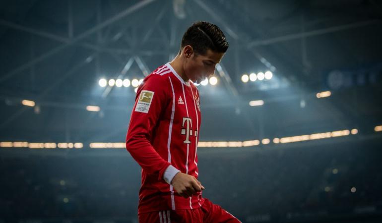 YouTube: James Rodríguez anotó su primer gol con el Bayern Múnich