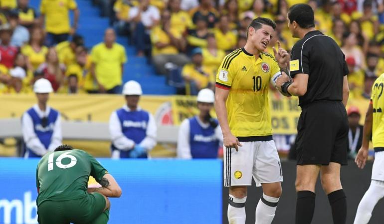 """Ricardo Marques árbitro José Borda: Ricardo """"celebración"""" Marques, un árbitro que dirige dependiendo su estado de ánimo"""