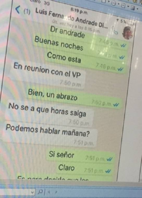 Caso Odebrecht Luis Fernando Andrade: En el celular de Otto Bula estarían las pruebas contra Luis F. Andrade: Fiscalía
