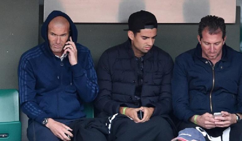 Zidane Real Madrid: Zidane contra Zidane, un duelo entre padre e hijo