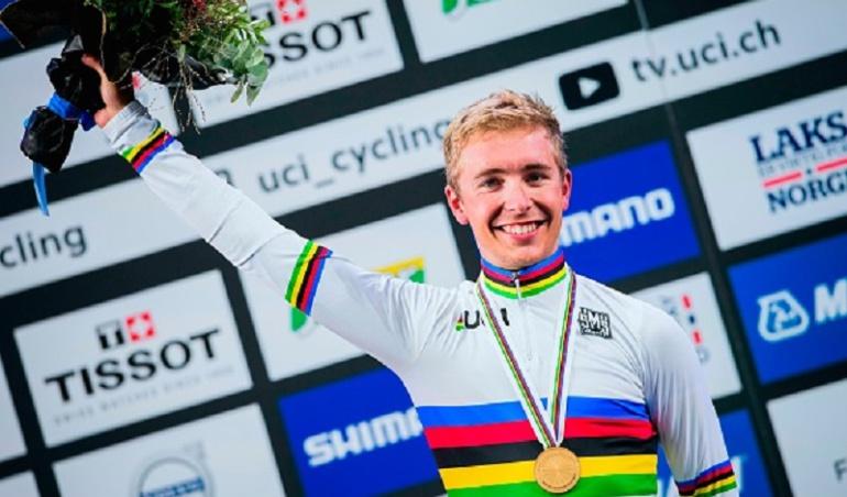 El ciclista francés Cosnefroy, nuevo campeón mundial sub 23