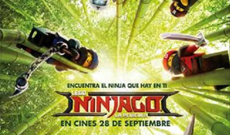 Lego Ninjago Warner Bros: Ya esta en los cinemas Lego Ninjago