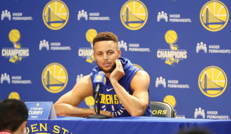Stephen Curry, jugador del Golden State Warriors