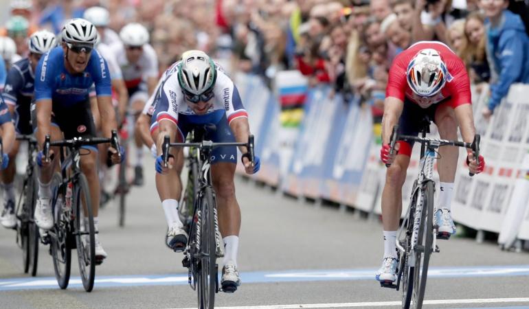 Campeonato Mundial de Ruta: Peter Sagan se corona triple campeón en el Campeonato Mundial de Ruta