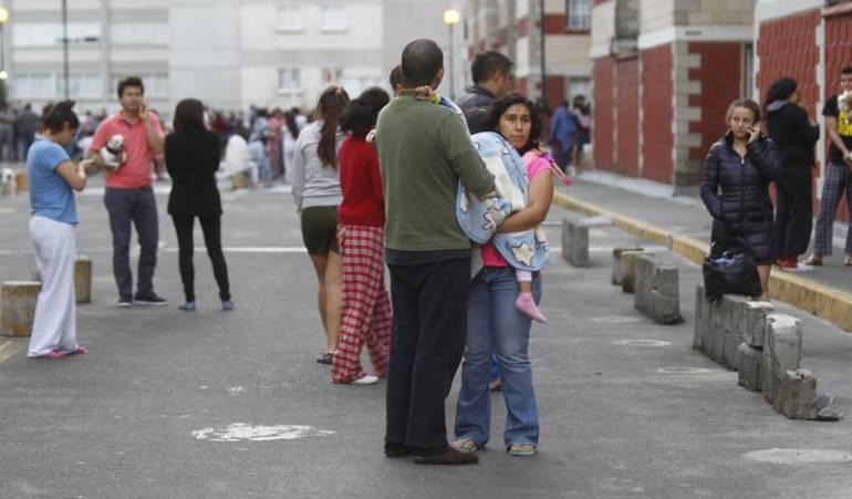 Imagen de referencia terremoto México.