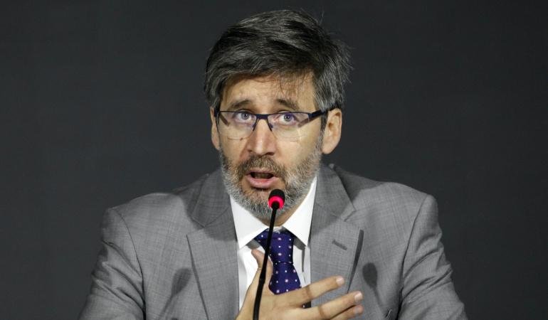 El secretario de la Corte Interamericana de Derechos Humanos, Pablo Saavedra Alessandri.