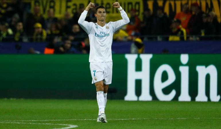 Real Madrid Vs Borussia Dortmund: Cristiano guía al Real Madrid a su primera victoria en casa del Borussia Dortmund